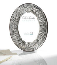N.1 Picture Frame Oval Cm.18x24 Made in Italy 100% Silver 925% 252/18L