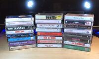 Cassette Tape Lot FLEETWOOD Elton John STEVIE NICKS Beatles Rock 25 Tape Lot