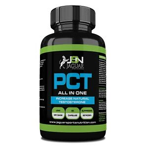 PCT- Post cycle therapy PCT -  Natural Testosterone Booster-  60 CAPS