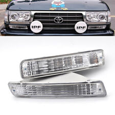 2X Front Bumper Fog/Driving Light For 1991-1997 Toyota Land Cruiser LC80 4500