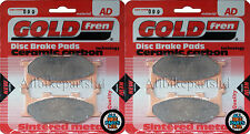 Yamaha XP 500 T-Max (2007) > Sinterizado Delantero Pastillas De Freno (2 Par) * GOLDFREN *