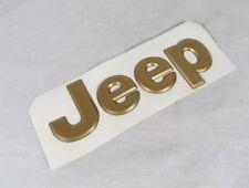 JEEP GRAND CHEROKEE GOLD EMBLEM 97-04 NEW OEM BADGE sign symbol logo letters