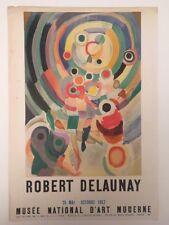 Robert Delaunay Affiche Lithographique 1957