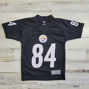 Nike Pittsburgh Steelers Antonio Brown #84 Black NFL Jersey Youth S (b6)