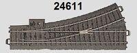 Märklin H0 24611 C-Gleis Weiche links NEU + OVP
