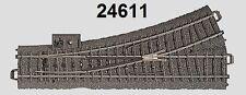 MÄRKLIN H0 24611C PISTA DESVÍO IZQUIERDA NUEVO + emb.orig