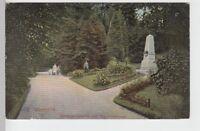 (101210) AK Chemnitz, Stadtpark, Claußdenkmal 1915