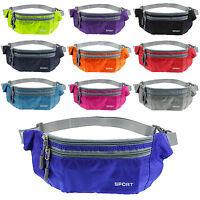 Womens Men Running Bag Waterproof Sport Camping Hiking Belt Bum Waist Pouch Hot
