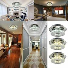 12W Modern Crystal Ceiling Light LED Pendant Lamp Flush Mount Chandelier Lamp WW