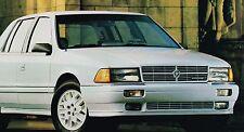1990 Dodge Brochure : DAYTONA,DYNASTY,SHADOW,SPIRIT,CARAVAN,OMNI,SHELBY,COLT,ES,