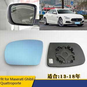 Exterior Mirror Glass Dimming Rearview Mirror for Maserati Ghibli Quattroporte