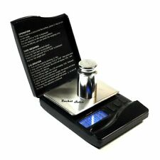 Small Pocket Scale 100g x 0.01g With Calibration Weight Gems Jewelry Herb Oz Ct