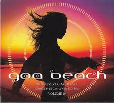 GOA BEACH VOLUME 19 E-Clip Ace Ventura Ritmo Zen Mechanics Sphera Lyctum Gaudium