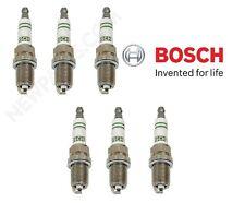6 For Mercedes 600SEC 600SEL W124 R129 W140 W210 Spark Plugs Bosch Super F8DC4