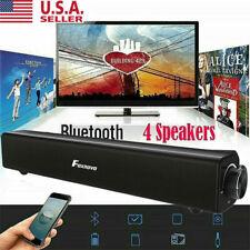 Sound Bar TV Soundbar Wired & Wireless Bluetooth Home Theater TV Speaker Durable