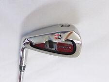 Left Handed Wilson D-FY 8 Iron Half Steel Half Graphite Reg Flex Shaft