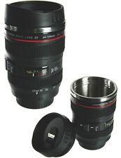 Thermobecher Kamera Objektiv Trinkbecher Tasse Mehrzweck Becher Kaffeetasse NEU