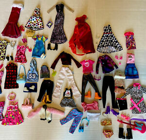 Barbie Doll Clothes Shoes Accessories Jewelry Lot