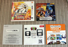 *NO GAME* POKEMON SUN VERSION CASE & LEAFLETS ONLY NINTENDO 3DS 2DS.