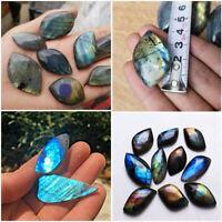 Natural Labradorite Crystal Rough Polished Rock Tumbled Chakra Healing Stone hi