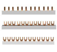 Phasenschiene Stromschiene Kammschiene Sammelschiene 3polig 1polig wählbar