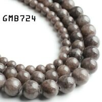 brown color jade stone round beads jewelry making 6mm 8mm 10mm 15'' strand