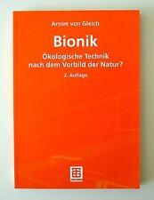 Bionik von Arnim von Gleich