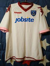 SIZE L Portsmouth Pompey 2010-2011 Away Football Shirt Jersey Kappa