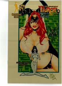Tarot Witch of the Black Rose 50 REISSUE GOLD METAL Jim Balent NM 2/10 NM COA
