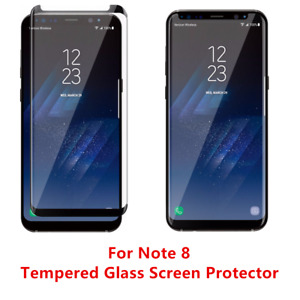 12 Pcs Anti Scratch For Samsung Galaxy Note 8 Tempered Glass Screen Protector BK