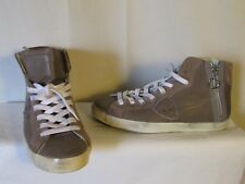 chaussures/baskets Philippe MODEL cuir taupe et daim taupe 40