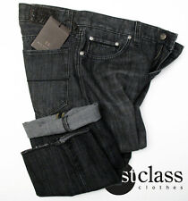 BOSS SELECTION Jeans NEW JERSEY 33/34 in dark grey