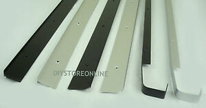 Kitchen Worktop Joining Strips End Straight Corner Joint Black Silver 30 & 40mm