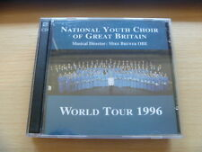 1996 CONCERT ITINERARY MIKE BREWER NATIONAL YOUTH CHOIR RARE 2 CDFREEPOST CD
