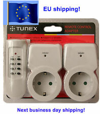 Radio controlled Wireless Remote Control adapter AC Power Plug Switch EU 220 235