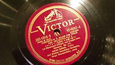koussevitzky heifetz HMV Japan 78 rpm Scroll Victor 5 records 9 parts brahms 77