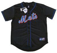 New York Mets MLB Majestic Big & Tall Alternate Road Men's Replica Jersey