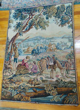 VICTORIAN ENGLISH STYLE TAPESTRY 55 x 39
