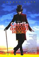 CHARLIE AND CHOCOLATE FACTORY MOVIE POSTER ~ ADVANCE 27x39 Johnny Depp