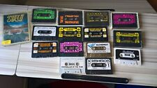 Retro vintage SINCLAIR ZX SPECTRUM CASSETTE TAPE GAMES BUNDLE MIXED JOB LOT