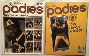 1979 1980 SAN DIEGO PADRES Yearbook DAVE WINFIELD Ozzie SMITH Rollie FINGERS