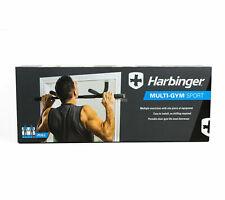 Harbinger Multi-Gym Sport Doorway Pull Up Bar Portable Gym System NEW