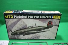 Heller 1/72 Heinkel He 112 Bo/B1 Model Kit # 240   (NIB)
