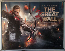 Cinema Poster: GREAT WALL, THE 2017 (Main Quad) Matt Damon Tian Jing Willem Dafo