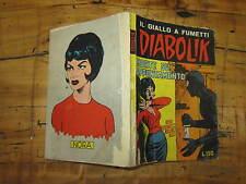 DIABOLIK SECONDA SERIE ORIGINALE NUMERO 7 MORTE SU APPUNTAMENTO SODIP 5/4/1965