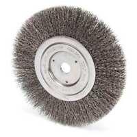 """Weiler 93490 Crimped Wire Wheel Wire Brush, Arbor, 7"""""""