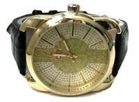 Mens Casual Watch Ice Master BM1318 Black Band Gold Dial Mens Fashion Watch 1ATM