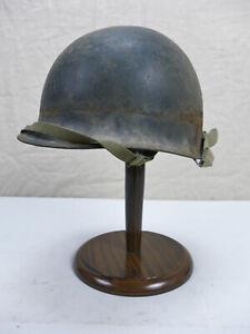 #120 US Army TYPE WW2 / VIETNAM M1 Stahlhelm Helm mit Innenhelm Liner Kinnriemen