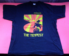 The Tempest play William Shakespeare wales actors company Rare vtg t-shirt