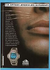 BELLEU000-PUBBLICITA'/ADVERTISING-2000- CASIO PRO TREK PRT - 410 T